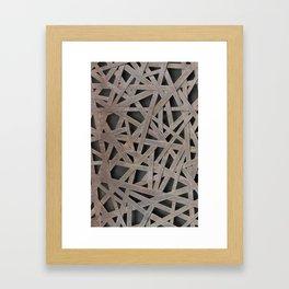 Alloy net Framed Art Print