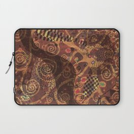 Abundance brown tree Laptop Sleeve