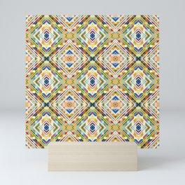 Minimal Geometric Genuine Pattern Seko Mini Art Print