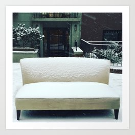The Cool Couch on the Upper West Side Art Print