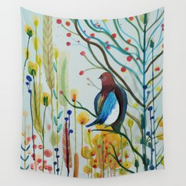 sous les branches Wall Tapestry