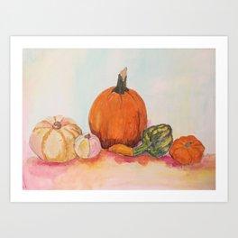 The Pumpkin for season Art Print