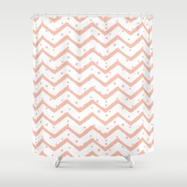 Chevron | by Kukka Shower Curtain