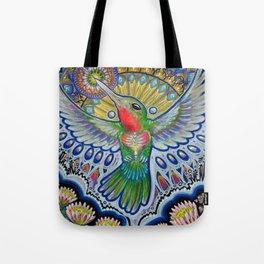Hummingbird & Cactus - Beija Flor III Tote Bag