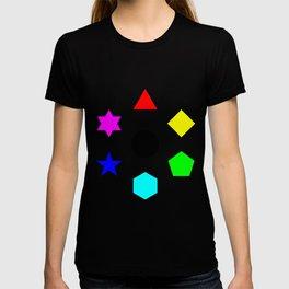 Seven Deadly Shapes Color T-shirt