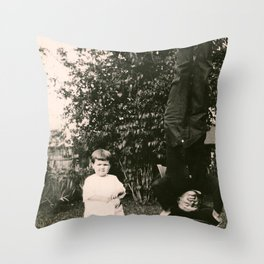 Silly Grandpa Throw Pillow