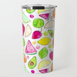 Juicy Fruits Travel Mug