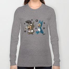 Super Totoro Bros. Alternative Long Sleeve T-shirt