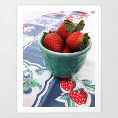 Berry Nice Art Print