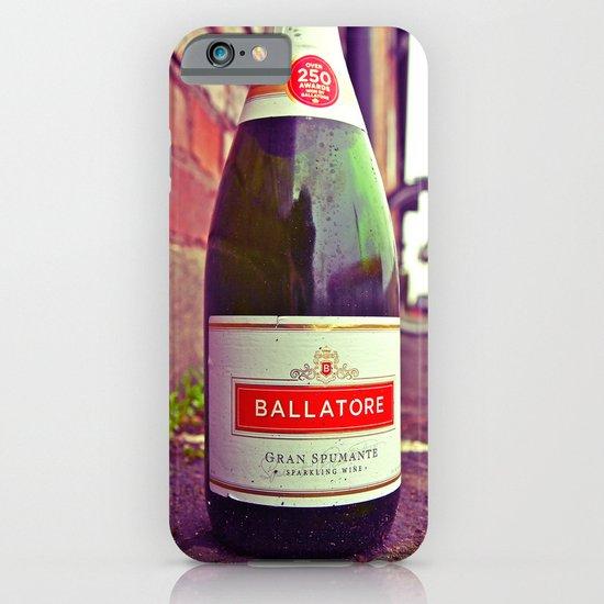 Urban wine bottle iPhone & iPod Case