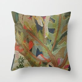 Exotic abstract patterns of nature Throw Pillow