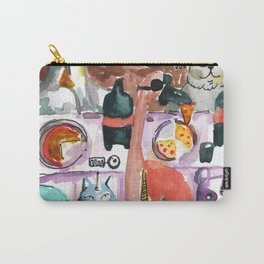 kawaii pizza party Carry-All Pouch