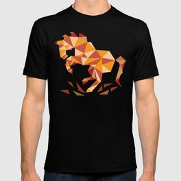 Dancing Mustang // Digital // Illustration T-shirt