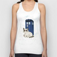 tardis Tank Tops featuring TARDIS by Arcade