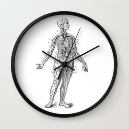 Bloody Woman Wall Clock