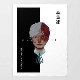 bnha art prints | Society6