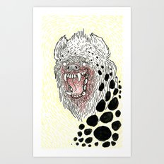 Monstrous and Free Art Print