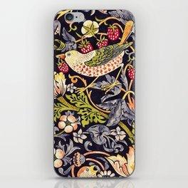 William Morris Strawberry Thief Art Nouveau Painting iPhone Skin