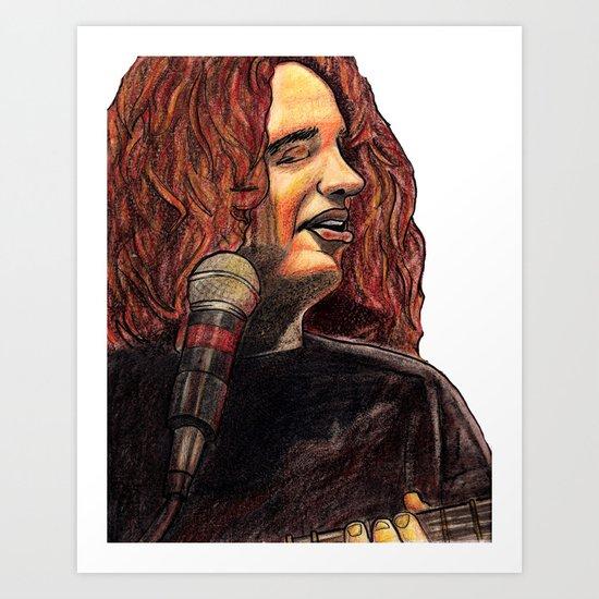Mikey Houser- Close Up Art Print