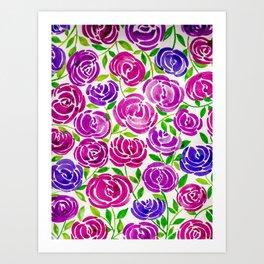 Full Bloom Bright Art Print