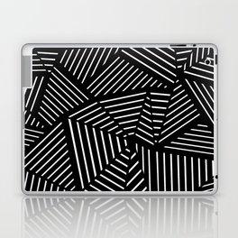 Ab Linear Zoom Black Laptop & iPad Skin