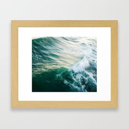 Roll Through Framed Art Print