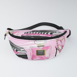 Perfume & Shoes Fanny Pack