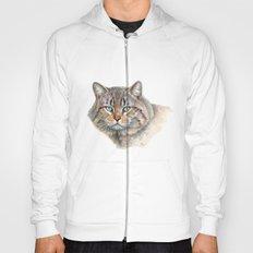 Street Cat portrait CC1402 Hoody
