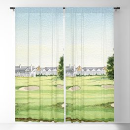 Southern Hills Golf Course 18th Hole Blackout Curtain