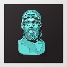 Zeus Pop Canvas Print