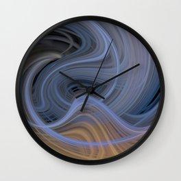 Trippy Twirl 7 Wall Clock