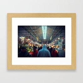 The Hood Id Framed Art Print