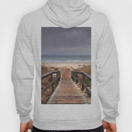 """To the beach...."". Wonderful sunrise Hoody"