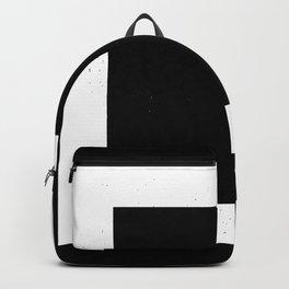 (SQUARE) (BLACK & WHITE) Backpack