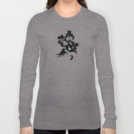 Idaho - State Papercut Print Long Sleeve T-shirt