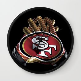 San Francisco Gloves Wall Clock