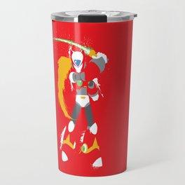 Zero (Mega Man X) Splattery Design Travel Mug