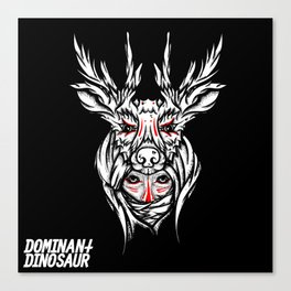 Mother nature deer Canvas Print