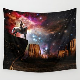 Native American Universe Wall Tapestry