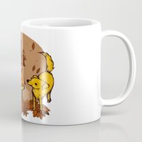 magic the gathering Mugs featuring Gathering by Kelsey Oseid
