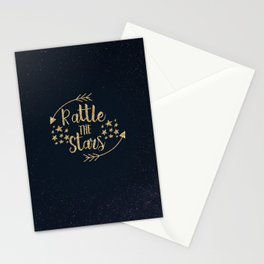 Throne of Glass - Rattle The Stars Stationery Cards