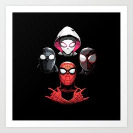 The Spiders Art Print