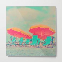 Beach Tent Metal Print
