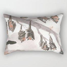 Thirteen Bats Rectangular Pillow