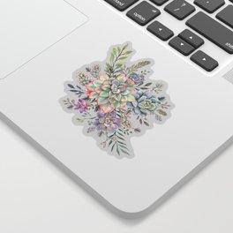 succulent watercolor 8 Sticker