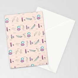 Lipstick and Blush Stationery Cards