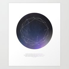 Light (Constellation) Art Print