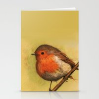 birdy Stationery Cards featuring Birdy by ioanazdralea