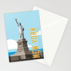 New York Travel Poster Stationery Cards