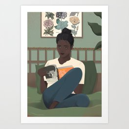 I Know Why The Caged Bird Sings Art Print
